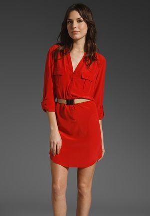 повсякденне червону сукню