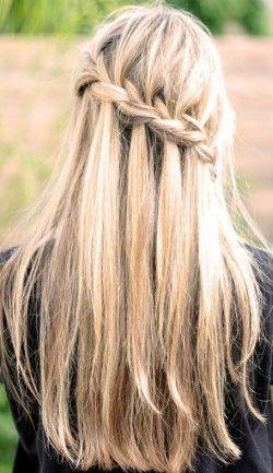 Мереживна коса французький водоспад