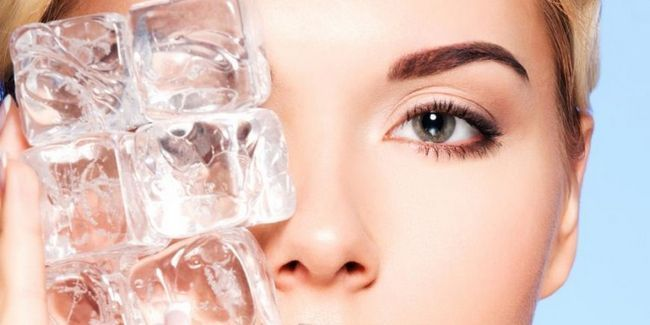 Кубики льоду для особи шкіри: результати кріотерапії