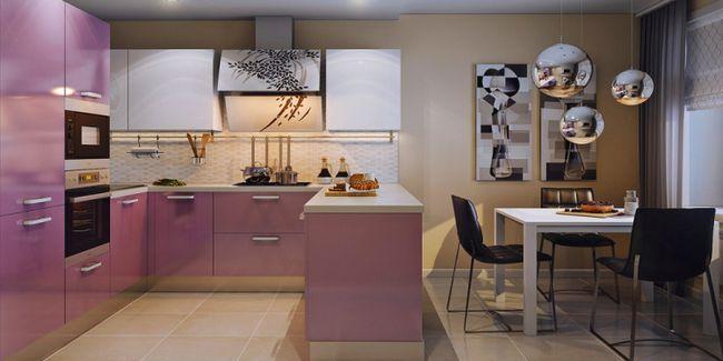 Кухонний інтер`єр - поєднання кольорів