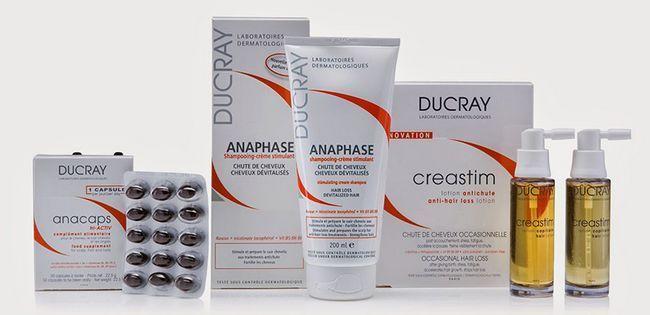 Аптечна косметика Дюкре для волосся