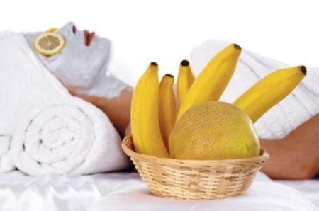 маска з бананом для особи