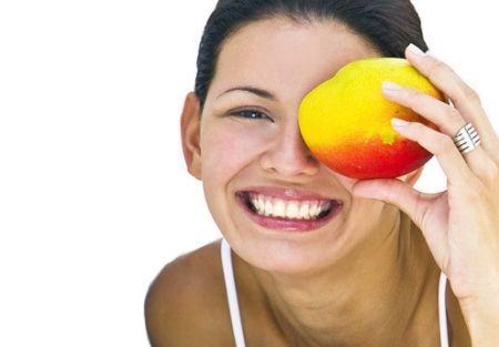 Маска для обличчя з манго