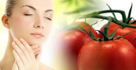 Маска для обличчя з помідорів