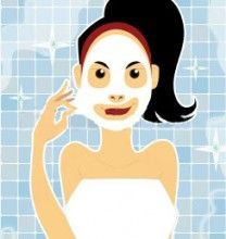 Маска-плівка для обличчя домашнього приготування