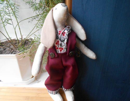 Майстер-клас з пошиття кролика тильда і одягу для нього своїми руками