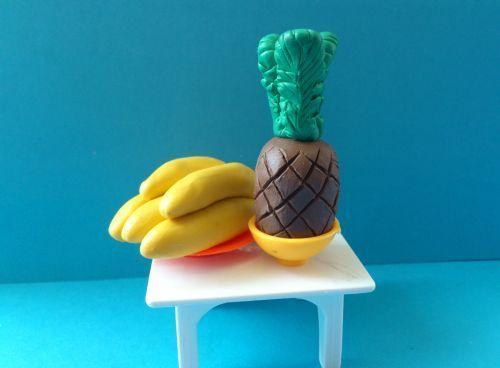 Мініатюрні фрукти з пластиліну своїми руками - майстер-клас для дітей та дорослих