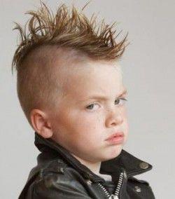 Мода і стиль в дитячих стрижках для хлопчиків