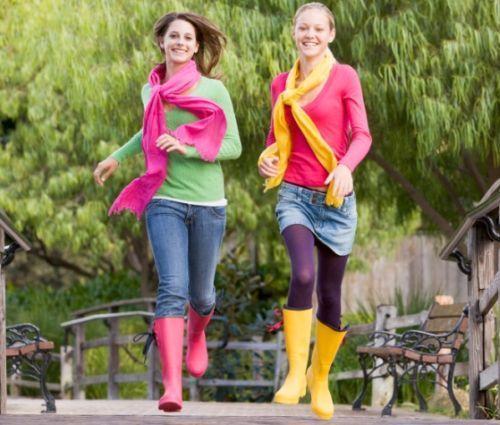 Мода в дощ і сльота - з чим носити гумові чоботи і бути в тренді