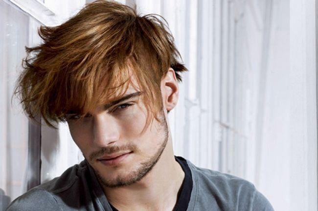 Модні зараз чоловічі стрижки на довге волосся?