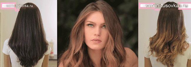 Модні ідеї: фарбування волосся в стилі ombre, відео
