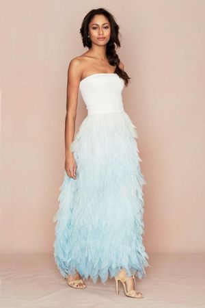 плаття з пір`ям