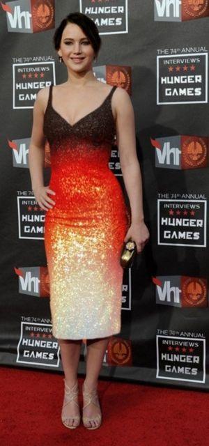 плаття з переходом кольору