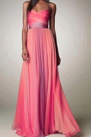 вечірнє плаття омбре