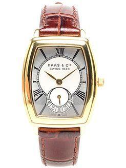 стильні жіночий годинник з червоним ремінцем