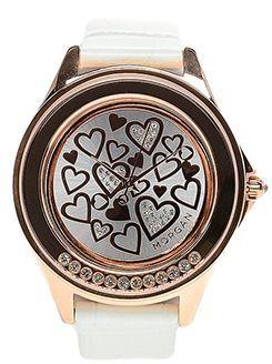 жіночий годинник з оригінальним циферблатом
