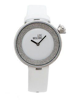 жіночий годинник білого кольору