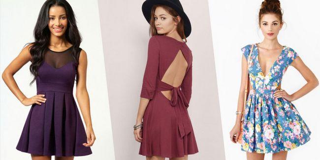Модний фасон: плаття скейтер