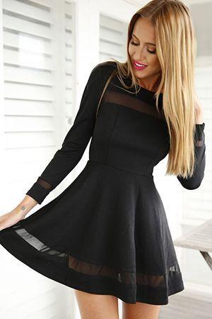 плаття скейтер чорного кольору