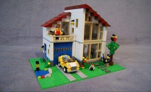 Набори, що дозволяють зробити будинок з лего для дітей