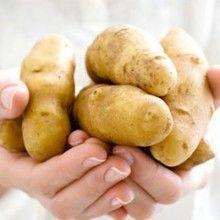Народні рецепти картопляних масок