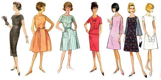 Назад в минуле: сукні в стилі 60-х років