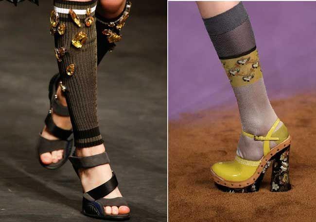 Нетривіальний предмет гардероба: як і з чим носити гетри і гольфи?
