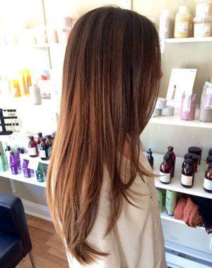 фламбояж на довге волосся