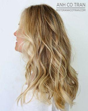 фламбояж на світле волосся