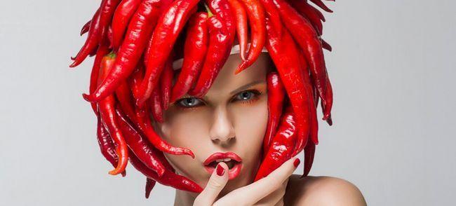 маски для росту волосся з перцю