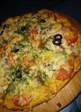 Піца на кефірі: швидкий рецепт, смачний результат