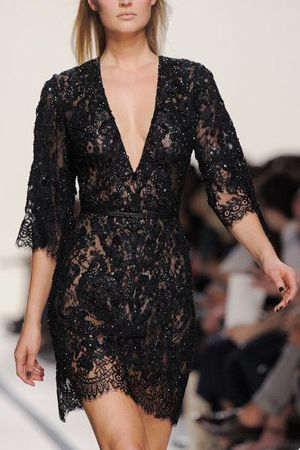 чорне плаття мереживне