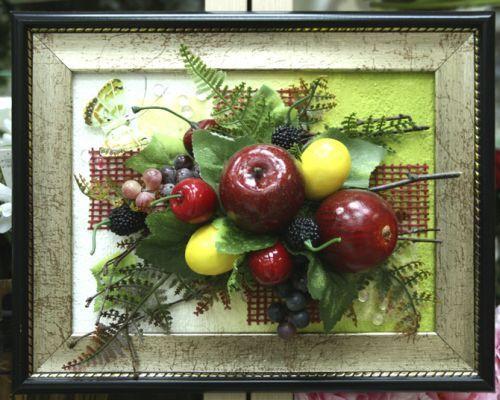 Вироби з штучних фруктів і ягід - красиво і смачно