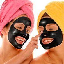 Чи допоможе маска з активованим вугіллям від чорних крапок?
