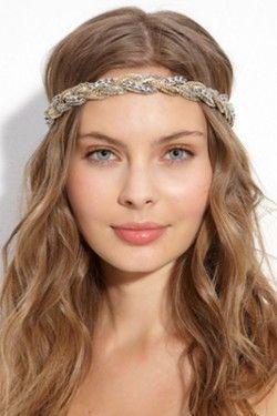 Зачіска з мотузкою для елегантних і витончених