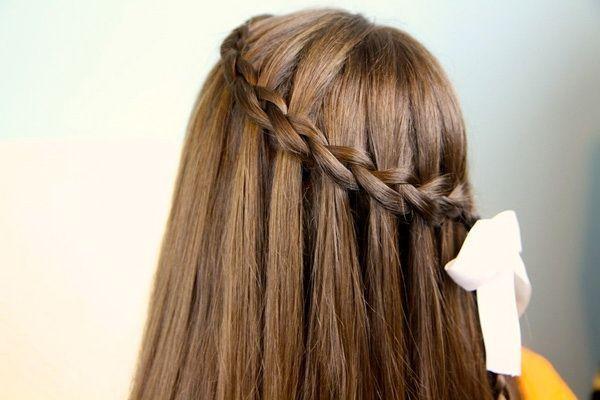 Зачіска «водоспад»