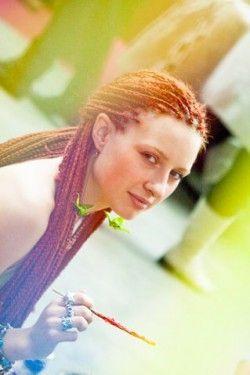 Зачіски з африканських кісок - сучасна екзотика