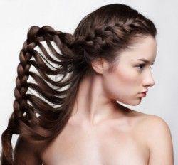 Зачіски з кіс: стильно і просто