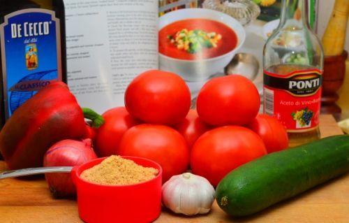 Простий рецепт супу гаспачо для ледачих