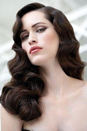 гламурна ретро зачіска