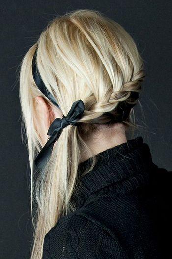 заплетена коса