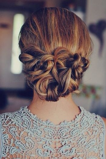 повсякденна романтична зачіска