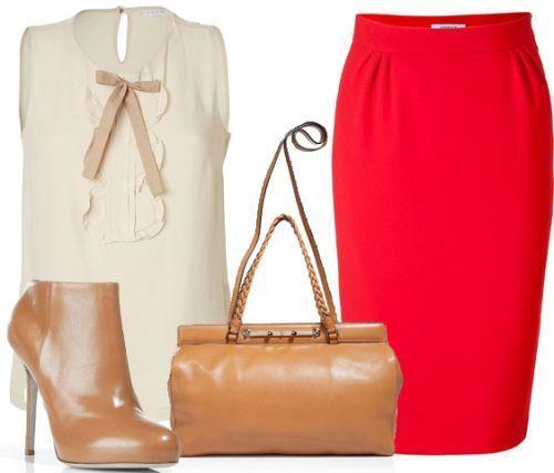З чим надіти червону спідницю - поради модницям і тим, хто тільки збирається завойовувати чоловічі погляди