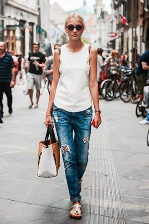 комплект одягу з джинсами