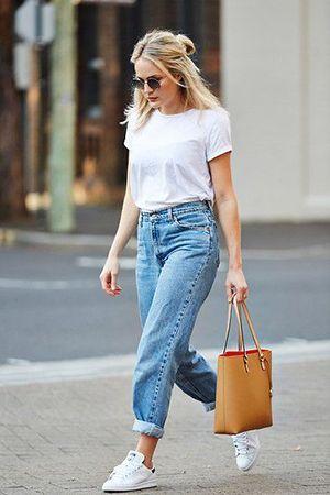 джинси з футболкою