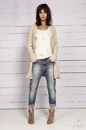 джинси бойфренди в стилі кажуал