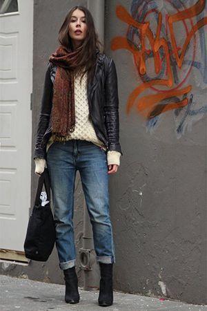 джинси з курткою