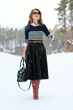 спідниця зі светром