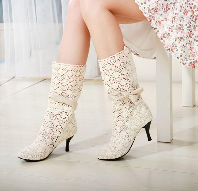 З чим носити літні чоботи - рекомендації для сміливих модниць