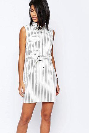 плаття сорочка в смужку